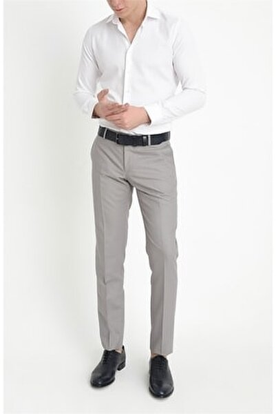 Pant. 047 Slim Fit Gri Altro Pantolon