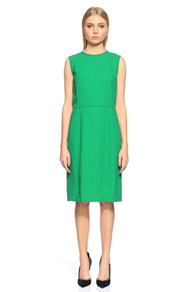 Lanvin Kolsuz Yeşil Elbise
