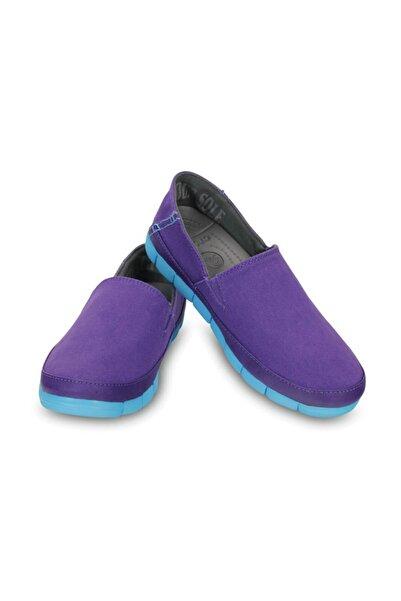 Crocs STRETCH SOLE LOAFER WOMEN Mor Kadın Casual Ayakkabı 100528797