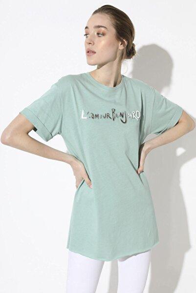 Arma Life Baskılı T-shirt - Mint
