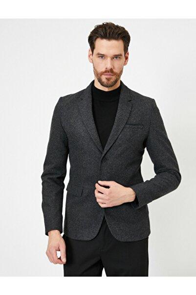 Koton Dügme Detayli Ceket