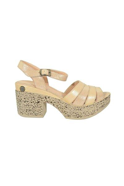 Mammamia 5235 Kadın Deri Sandalet