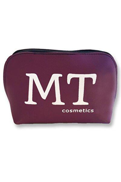 Makeuptime Mt Mat Deri Makyaj Çantası Mor