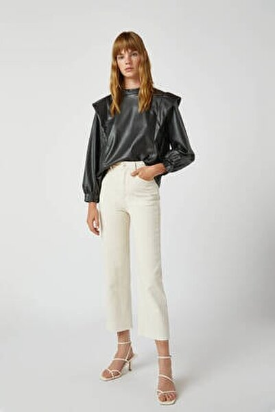Crop Straight Fit Jean