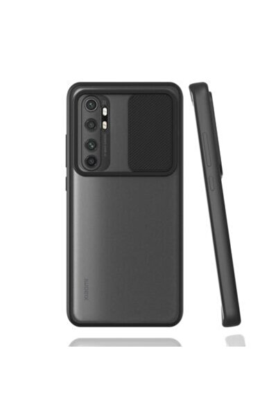 zore Xiaomi Mi Note 10 Lite Uyumlu Siyah Kılıf