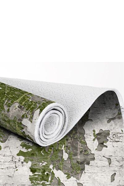 EXCLUSIVE Toprak Dijital Halı Grace Soyut Yeşil