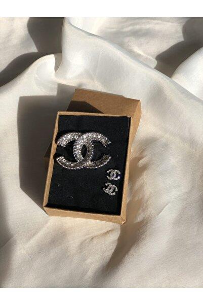 HİLLSCARF Chanel Bros & Chanel Küpe