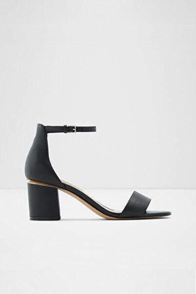 Aldo Valentına - Siyah Orta Topuklu Sandalet