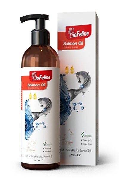 BioFeline Salmon Oil 200 Ml. ( Kedi Ve Köpekler Için Omega 3 Ve 6 Desteği )