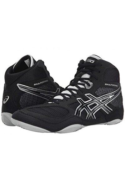 Asics Snapdown Güreş Ayakkabısı Siyah-gümüş