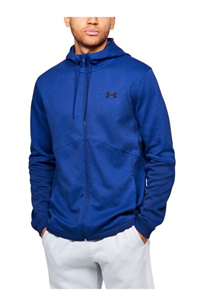 Under Armour Erkek Spor Sweatshirt - Double Knit Fz Hoodie - 1352012-449