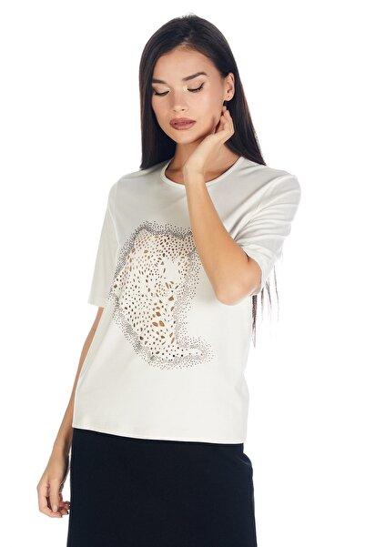 Solo Kadın Bisiklet Viskoz-lycra Lazer-hotfix T-shirt-bluz
