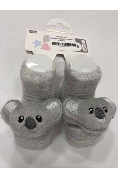 Bibaby 68340 Çorap Gri Koala
