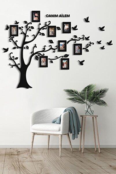 Artı Soy Ağacı Mdf Dekoratif Duvar Tablosu