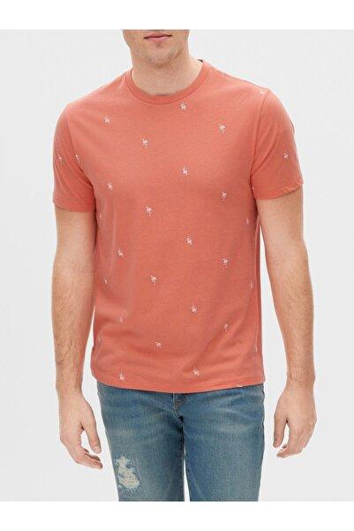 GAP Kısa Kollu Yuvarlak Yaka T-shirt