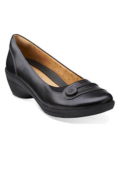 CLARKS Un Ferran Dolgu Topuk Ayakkabı