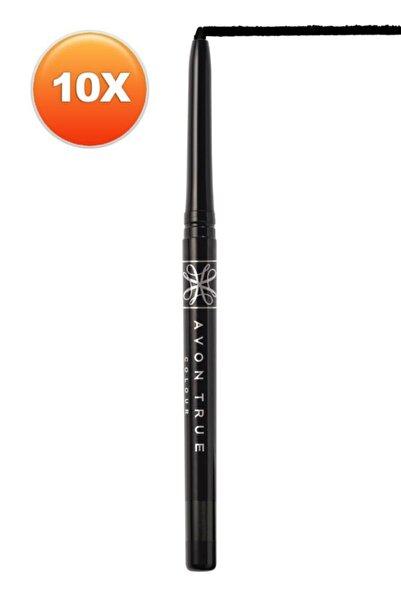AVON Glimmersticks Açılıp Kapanabilen Göz Kalemi Blackest Black Onlu Set