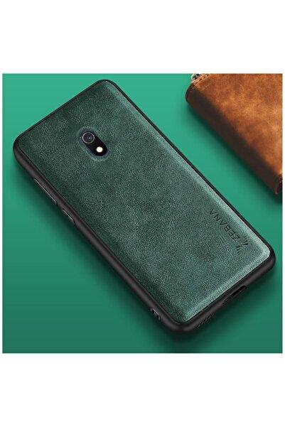 Dara Aksesuar Samsung Galaxy J7 Pro Kılıf Zebana Lüx Deri Kılıf Yeşil