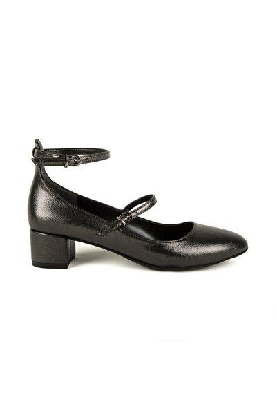 DİVUM Platin Topuklu Ayakkabı
