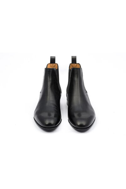 Valentino Garavani Trok Detaylı Siyah Deri Bot