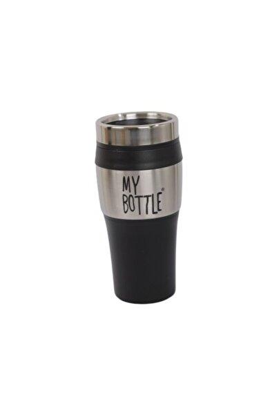 My Bottle Metal Kapaklı Kupa Siyah