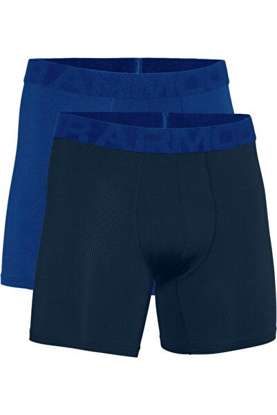 Under Armour Erkek Boxer - Ua Tech Mesh 6In 2 Pack - 1363623-400