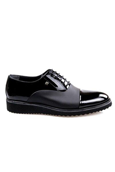 Fosco 6590 Eva Taban Siyah (39-44) Oxford Erkek Günlük Ayakkabı