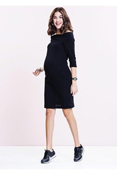 Even Fashion Hamile Giyim Triko Kısa Hamile Elbise