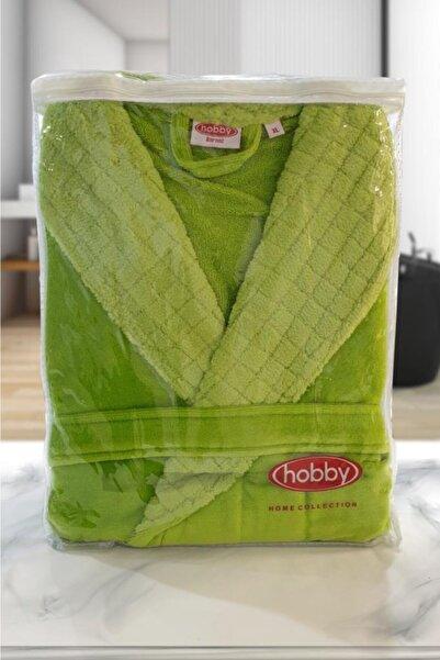 Hobby Bornoz Yeşil Angora