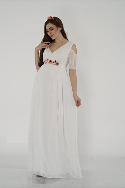 Entarim Hamile Baby Shower Elbisesi 2919