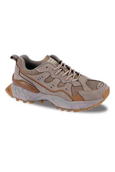 Jump 25760 Kadın Bej Rengi Tracking Ve Outdoor Tarzı Spor Ayakkabı.
