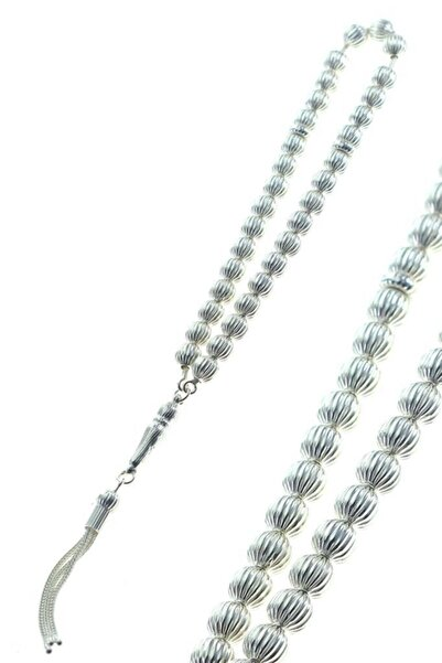 Söğütlü Silver Karpuz Modeli Gümüş Tesbih