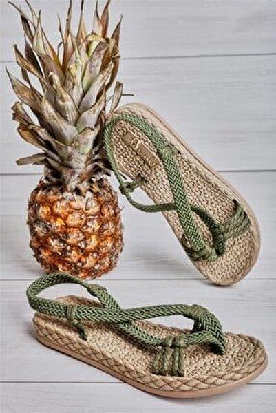 Haki Kadın Sandalet L0823150099