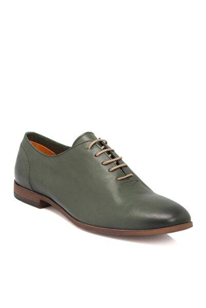 Tergan Yeşil Deri Erkek Ayakkabı 54209m5s