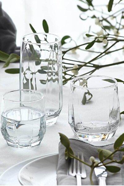 LAV Diamond 18 Parça Su Bardağı Seti