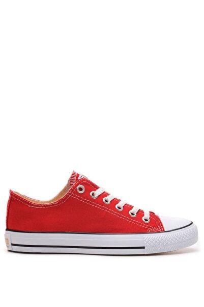Bulldozer 201436 Kırmızı Erkek Keten Ayakkabı