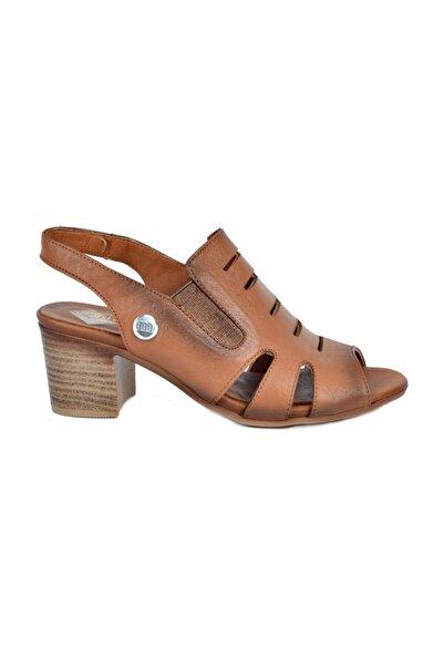 Mammamia Kadın Deri Sandalet 1045