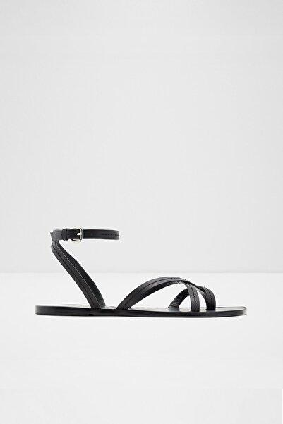 Aldo Sylvıa - Siyah Kadın Düz Sandalet