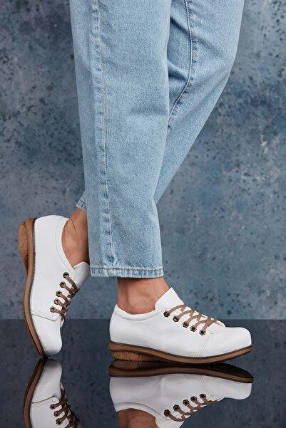 DARK SEER Beyaz Kadın Günlük Ayakkabı