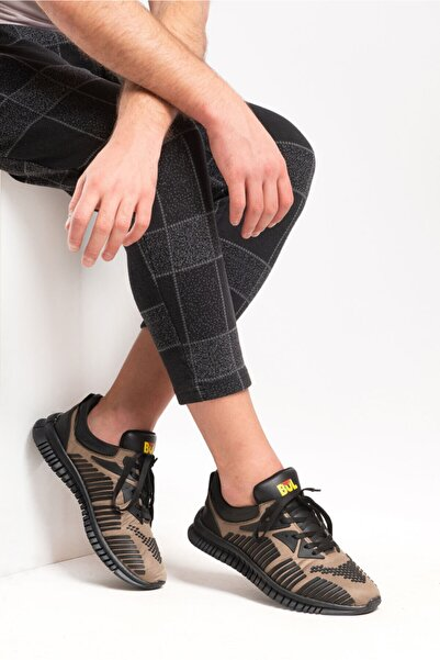 Bulldozer 201513 Hakı Sıyah Erkek Spor Ayakkabı