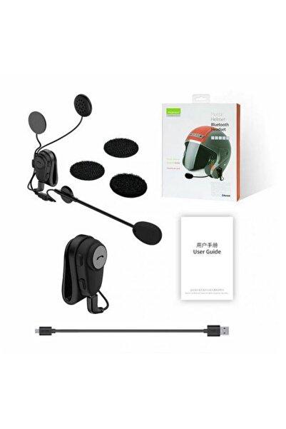 Roman Bluetooth Motosiklet Kask Kulaklık Anti-parazit Eller Serbest Yağmur Geçirmez