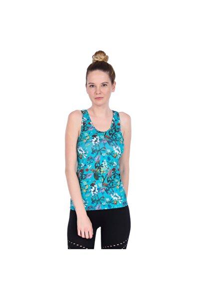 Sportive Kadın Mavi Atlet 710144-0vr