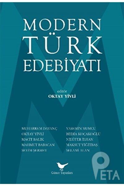 Günce Yayınları - Akademik Kitaplar Modern Türk Edebiyatı