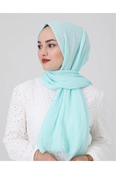 perryscarf Kadın Mint Bürümcük Tesettür Şal