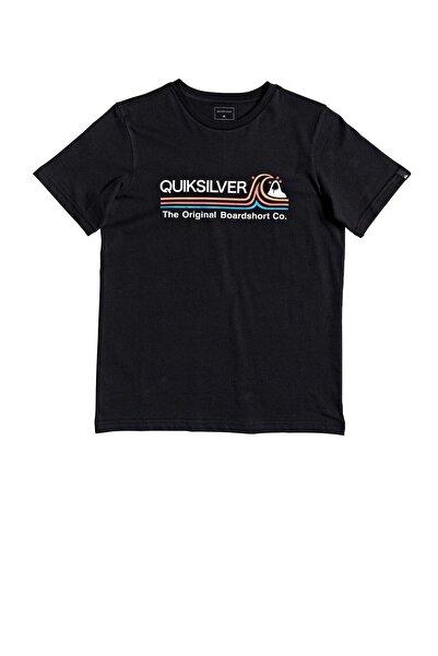 Quiksilver Erkek Çocuk Siyah Stone Cold Tişört Eqbzt04144-kvj0