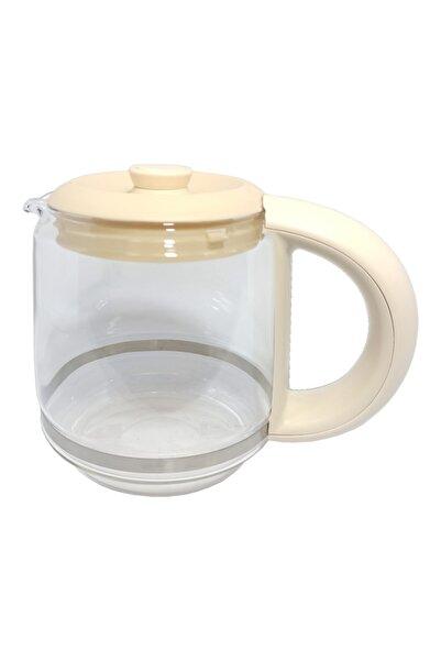 TEFAL My Tea Çay Makinesi Krem Renkli Uyumlu Cam Demlik