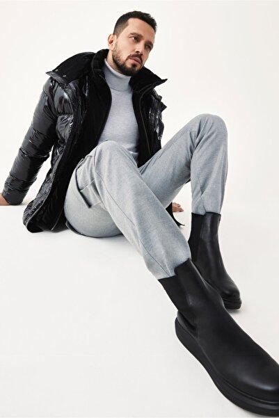 Avva Erkek Açık Gri Kargo Cepli Slim Fit Pantolon A02y3051