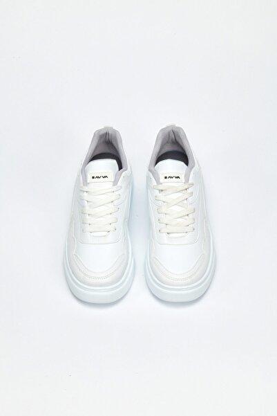Avva Erkek Beyaz Spor Ayakkabı A02y8019