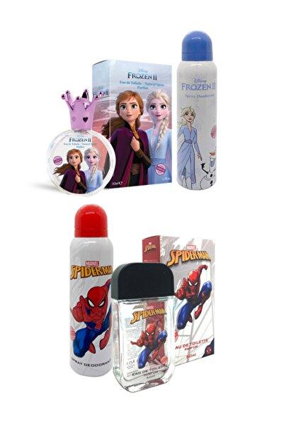 Disney Frozen Frozen2 & Spiderman Parfüm-deodorant Set