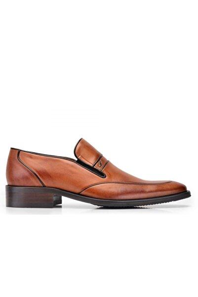 Nevzat Onay Hakiki Deri Taba Klasik Loafer Erkek Ayakkabı -10472-